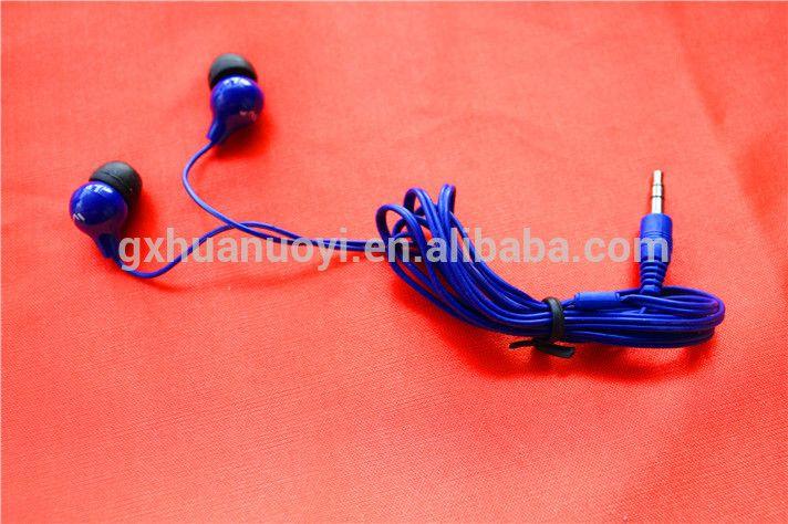 3.5mm jack in ear phone/silicon in-earphone/ cheap earphones /best colorful headphones /bulk earphone /good sound earphone /wire