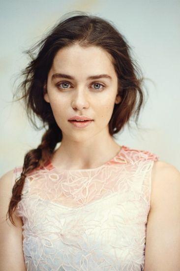 Emilia Clarke Style Inspiration British Vogue December 2013