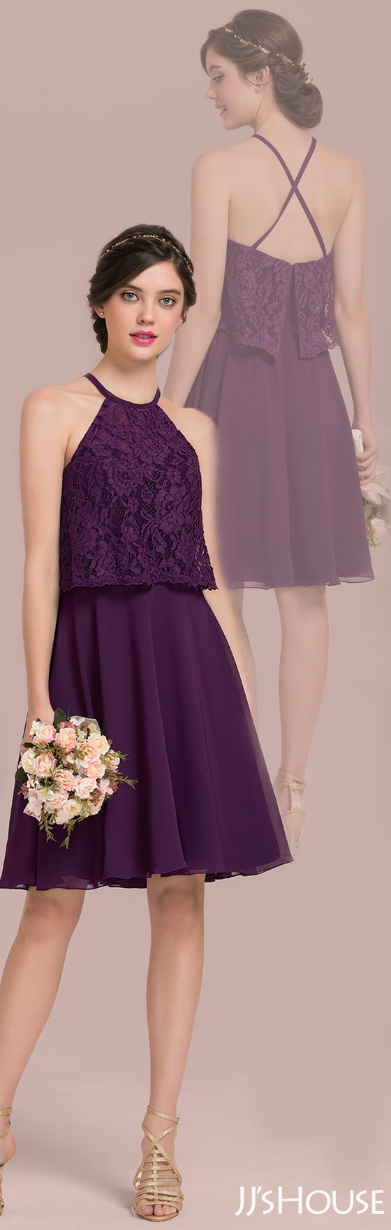 This bridesmaid dress is a little cute and a little sexy! #JJsHouse #Bridesmaid