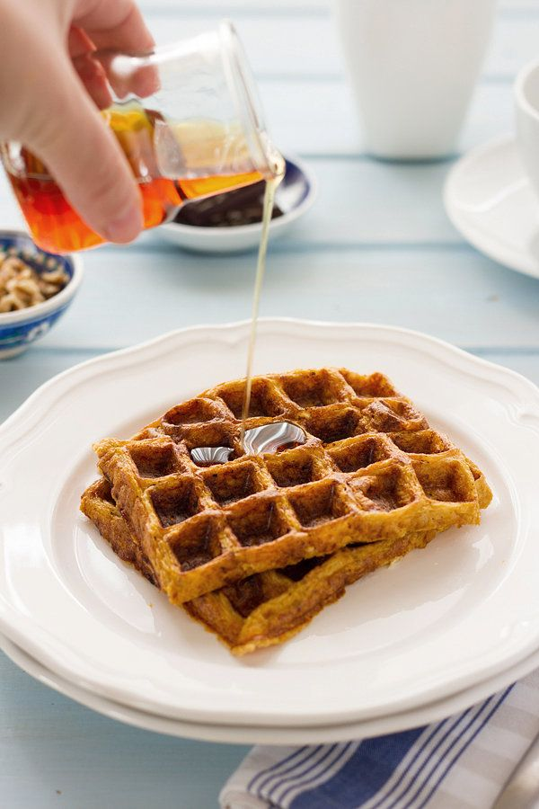 Gluten Free Sweet Potato Waffles by Mayi Carles // Heartmade Blog ...
