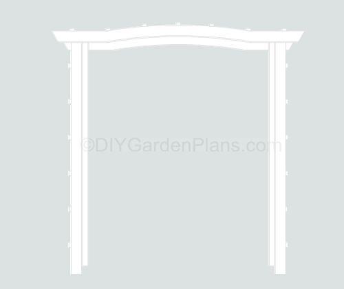 43 best Pergolas images on Pinterest Pergola plans, Arbors and - garden arbor plans designs