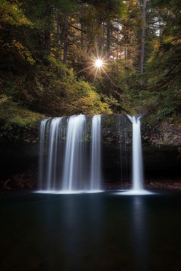 Upper Butte Creek Falls, Butte Creek, Scotts Mills, Oregon