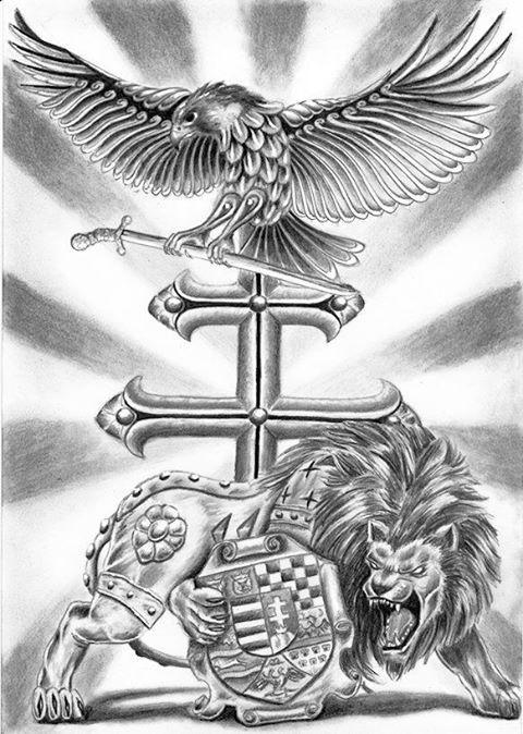 turul tattoo | Transylvanizmus shared Tattoo Designe/Tattoo Minták 's photo .