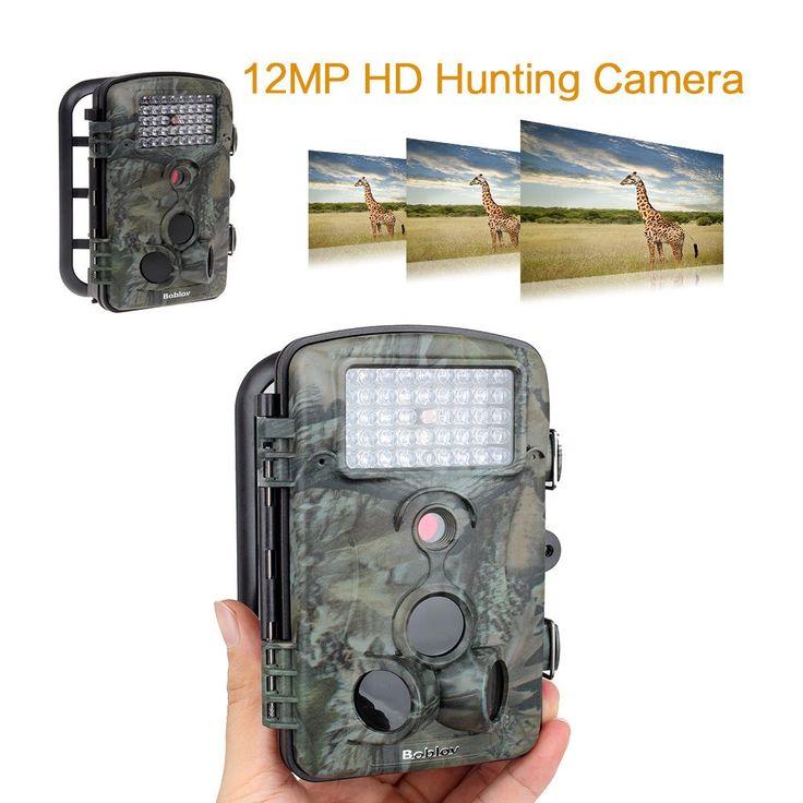 (84.21$)  Watch now  - BOBLOV HD 12MP 850nm Caccia Videocamera Waterproof Hunting Camera Digitali Trail RD1000