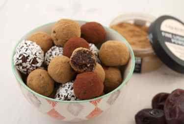 Date and Liquorice Truffles