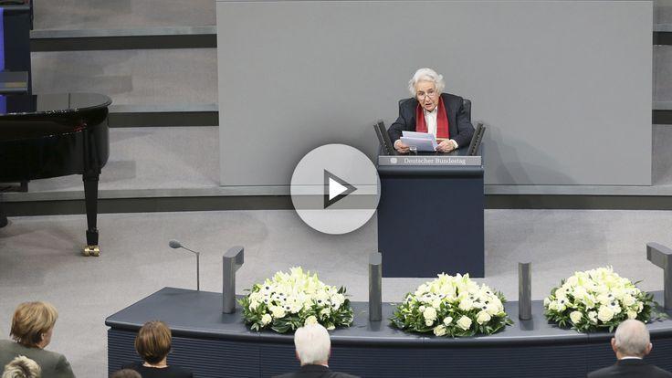 Una superviviente de Auschwitz ante el Bundestag: El antisemitismo sigue vivo en Alemania