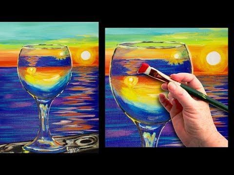Best 20 easy acrylic paintings ideas on pinterest for Acrylic painting techniques for beginners