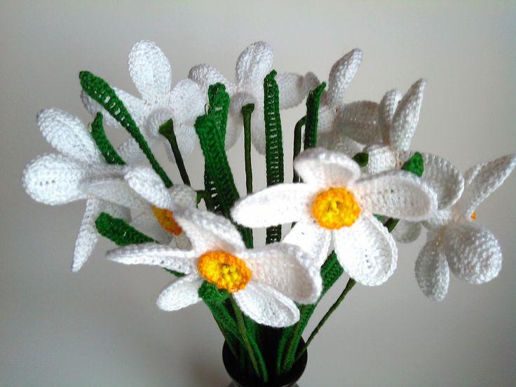 Crochet narcissus
