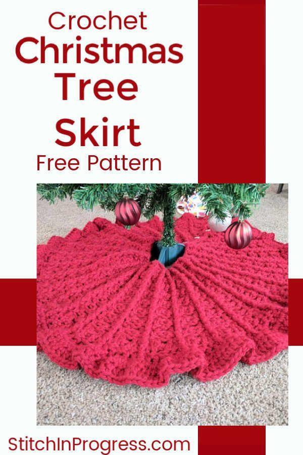 Crochet Christmas Tree Skirt Pattern Crochet Etc Crochet