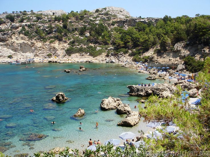 Anthony Quinn Bay - Rhodes Island Greece