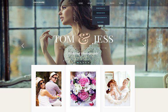Exposure - Photography WP Theme by ThemeFuse on @creativemarket