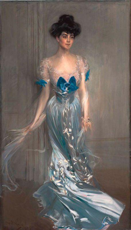 Portrait of Mrs. Graham Fair Vanderbilt (née Virginia Graham Fair)