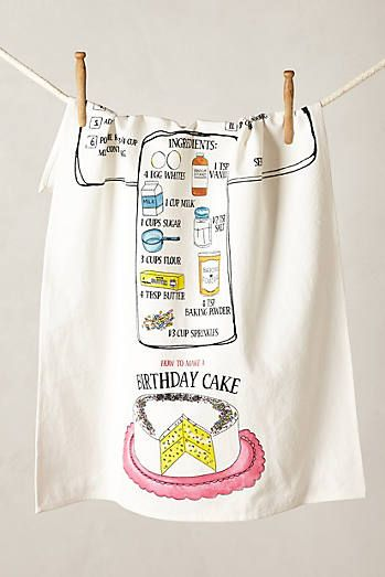 Recipe Dishtowel