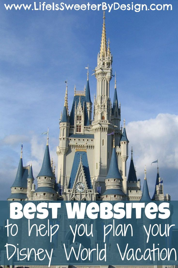Save time and money when you travel to Disney World by using these great websites! Planning ahead is the key to making the most of your dollars at Disney!