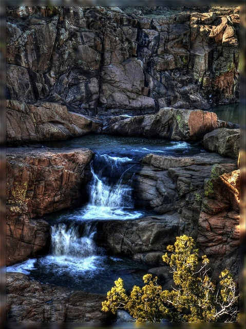 Forty Foot Hole, Quanah Mountain, Wichita Mountains Wildlife Refuge, Lawton, Oklahoma