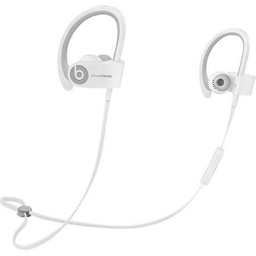 Beats by Dr. Dre - Powerbeats2 Wireless Bluetooth Earbud Headphones - White - Alternate View 2