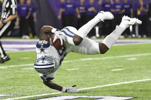 Dez Bryant Photos Photos - Dez Bryant #88 of the Dallas Cowboys catches the ball for a 56-yard reception in the second quarter of the game against the Minnesota Vikings on December 1, 2016 at US Bank Stadium in Minneapolis, Minnesota. - Dallas Cowboys v Minnesota Vikings
