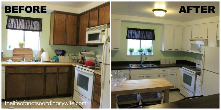 1000 ideas about cheap kitchen remodel on pinterest for Cheap way to redo kitchen cabinets