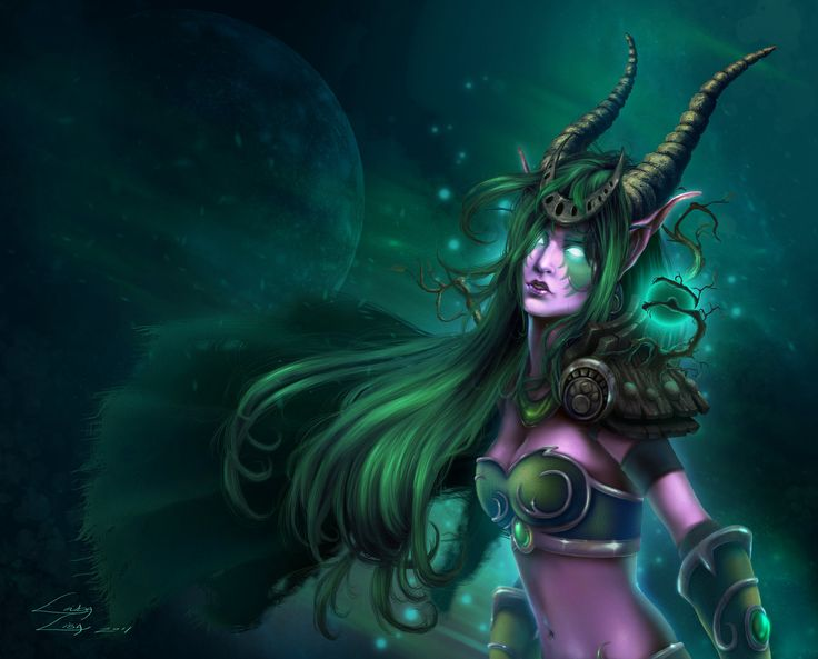 """Ysera, the green Dragon Aspect, is charged with the protection of the Emerald Dream, but also watches over Azeroth. To the druids she is known as the """"mother"""" of Cenarius, but since she is a dragon, this is not literal. Eonar the titan blessed Alexstrasza's younger sister, the lithe green dragon Ysera, with a portion of nature's influence. Ysera fell into an eternal trance, bound to the waking Dream of Creation. Known as the Dreamer, she would watch over the growing wilds of the world…"""