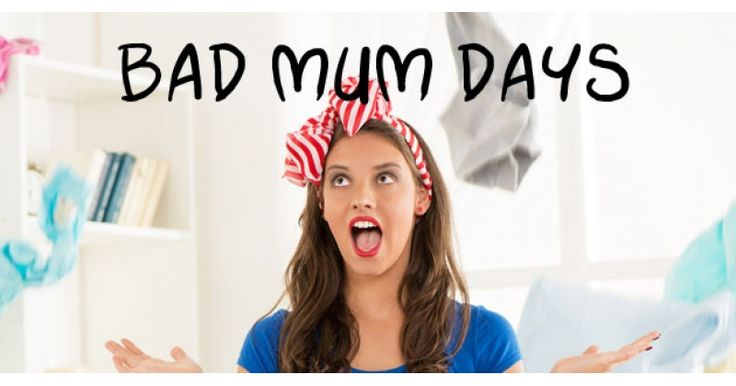 We think you'll nod in recognition when you read this poem about a bad mum day