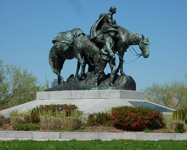 Pioneer Mother Statue in Kansas City, Mo | my home town ...