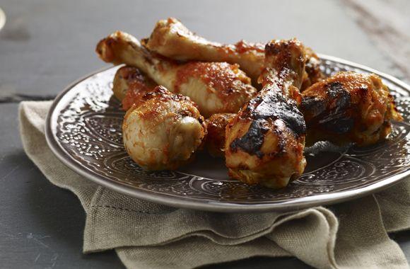 Grillet sur-sød kylling