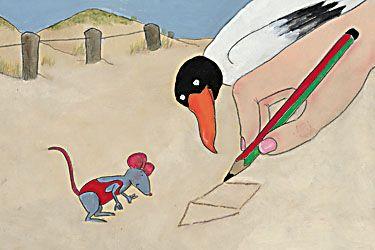 Samen aan zee. Illustratie: Paula Gerritsen. Uitgv: Lemniscaat