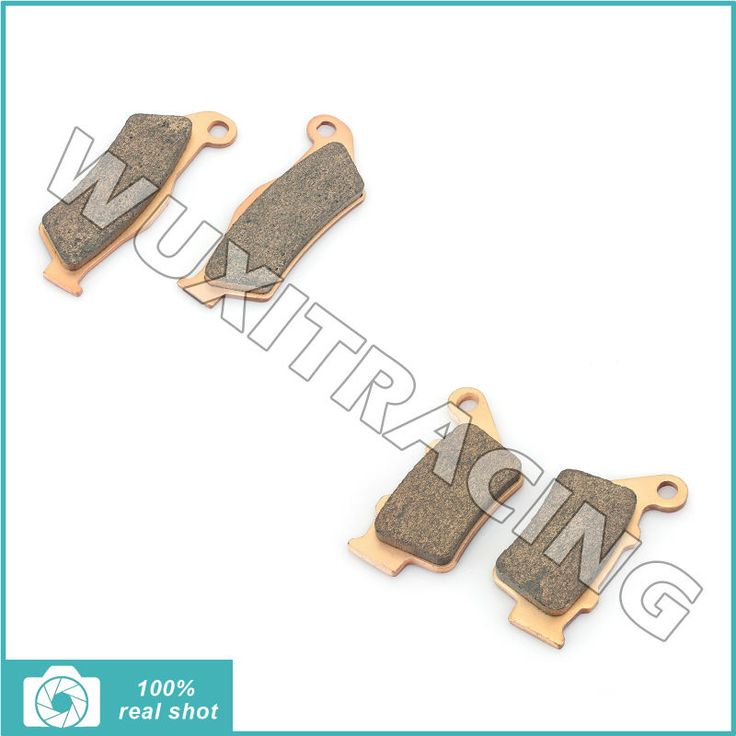 4pcs Set Front Rear Brake Pads for KTM EXC/EGS 125 250 300 350 380 400 440 450 520 SX 125 250 360 380 400 440 520 LC2 125 SM 125 #Affiliate