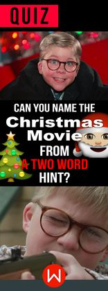 "Find+out+if+you're+really+a+Christmas+movie+fan+by+identifying+films+like+""The+Santa+Clause""+using+only+one+picture+and+two+hints."
