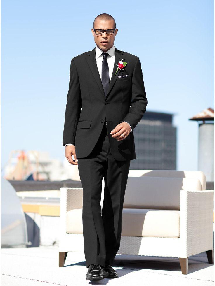 Wedding Party Black Suit   Men's Wearhouse   Wedding 2015 ...