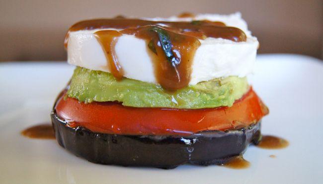 Eggplant Caprese Stacks | Food | Pinterest