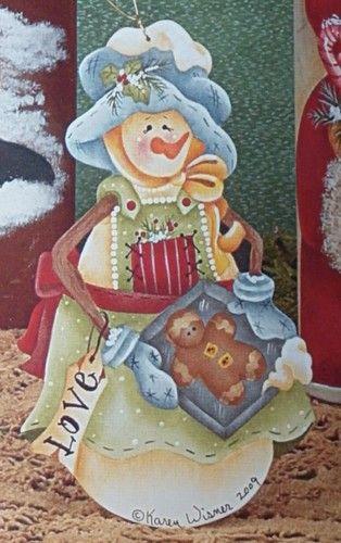 RTP Snowfriends Mary by Karen Wisner Fall Freezin 8 | eBay