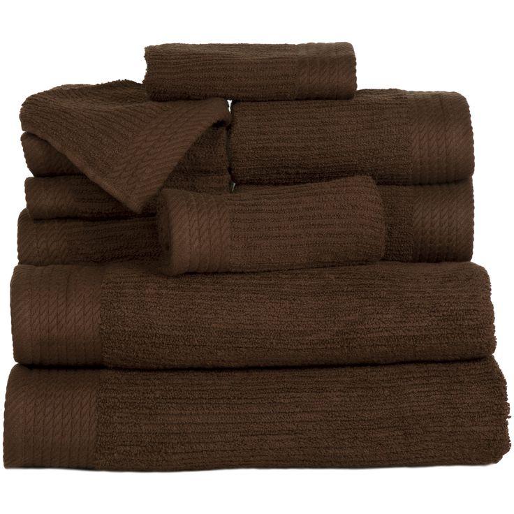 10 Piece Egyptian Cotton Towel Set
