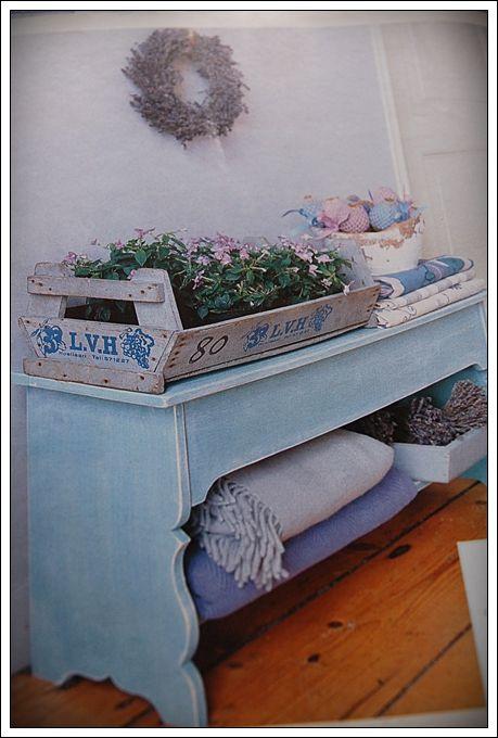 Sweet vintage bleu...