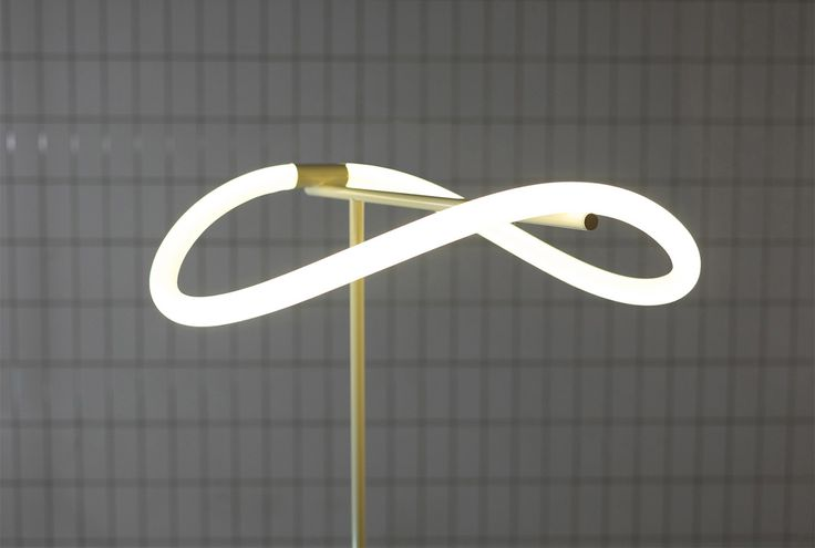 Dutch design firm Studio Truly Truly has created a collection of floor and pendant lamps featuring bendy LED lights arranged in loops.