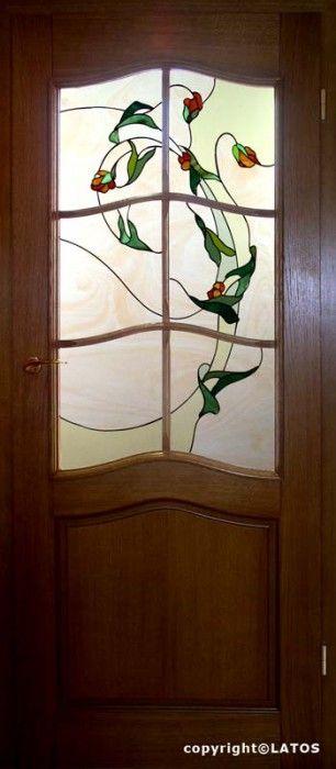 Witraże roślinne | Witraże Latos | Witraż | Szkło Artystyczne