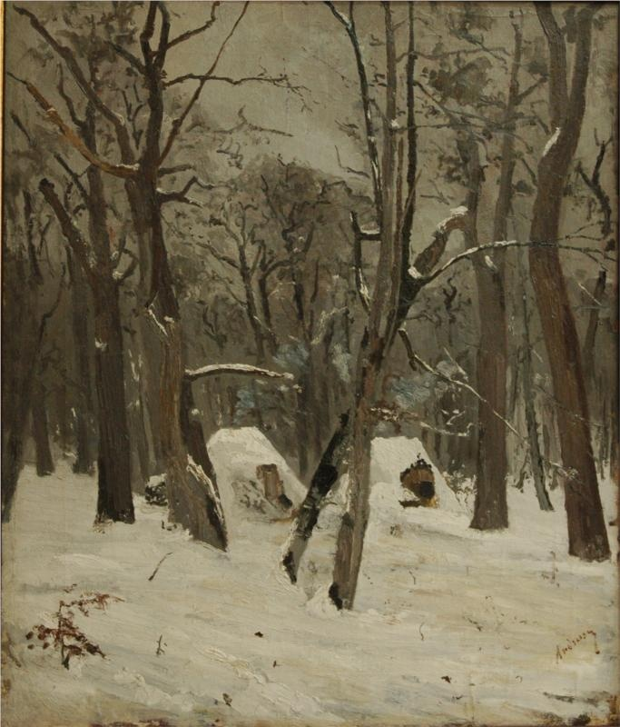 Ion Andreescu - The Winter.