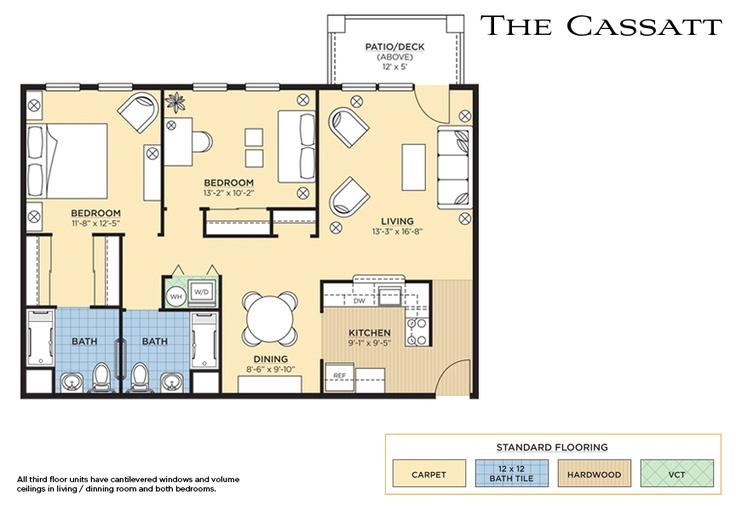 The Cassatt Floorplan