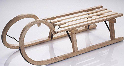 Sirch Hörnerrodel Esche Lattensitz Esche 115 cm Made in Germany