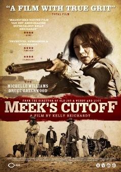 Meek's Cutoff Cover - An atypical Western  http://riverrunfilm.com/