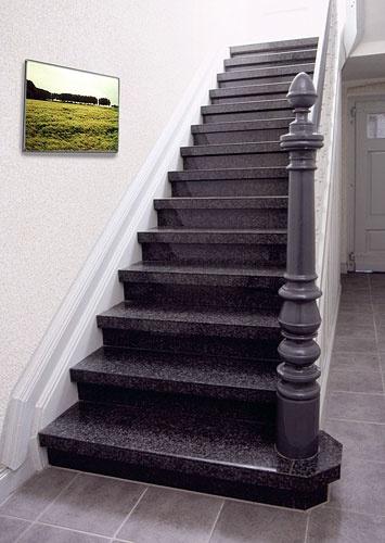 Escalera de mármol http://www.bonitadecoracion.com/2012/09/decoracion-interiores-exteriores-marmol-piedra.html