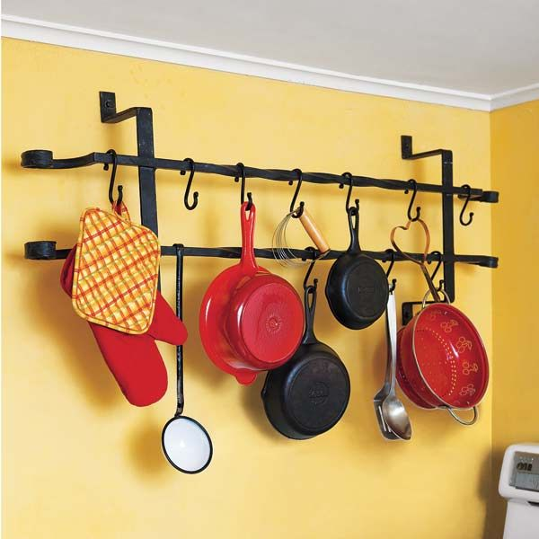83 best pot rack ideas images on Pinterest | Kitchen ideas, Kitchen ...