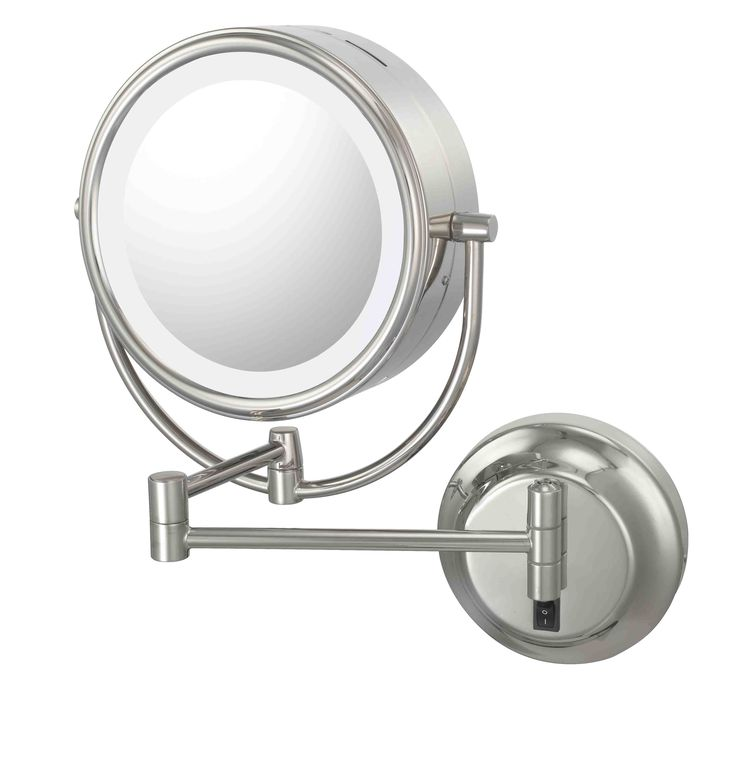Hardwire Double Sided Led Lighted Wall Mirror Comes In