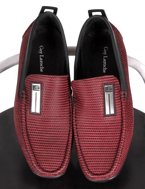 Bordeaux is the new black! Mens loafers Guy Laroche F/W 2016-17