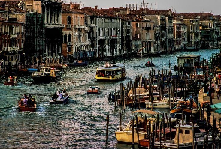 Canale Grande Venedig di Urs Leuenberger