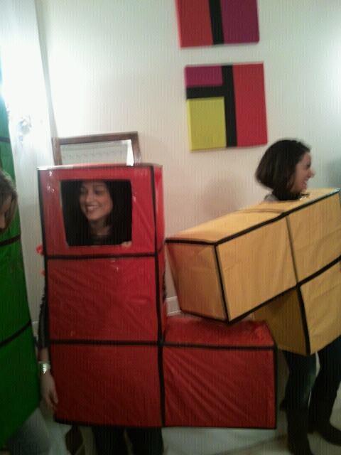 idee per carnevale - carnevale nerd col tetris :)