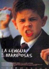 CINE(EDU)-107. La lengua de las mariposas / una película de José Luis Cuerda. España, 1999. Drama. Finais do inverno de 1936. Nun pobo galego, Moncho, un neno de 8 anos, incorpórase á escola tras unha enfermidade. A partir dese momento comeza a súa aprendizaxe co seu amigo Roque e do seu peculiar mestre que lles inculca coñecementos tan variados como a orixe da pataca ou a necesidade de que as linguas das bolboretas teñan forma de espiral…