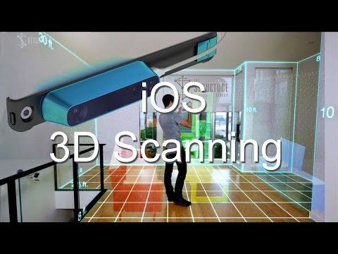 Occipital 3D iOS Virtual Reality Laser Scanner - YouTube