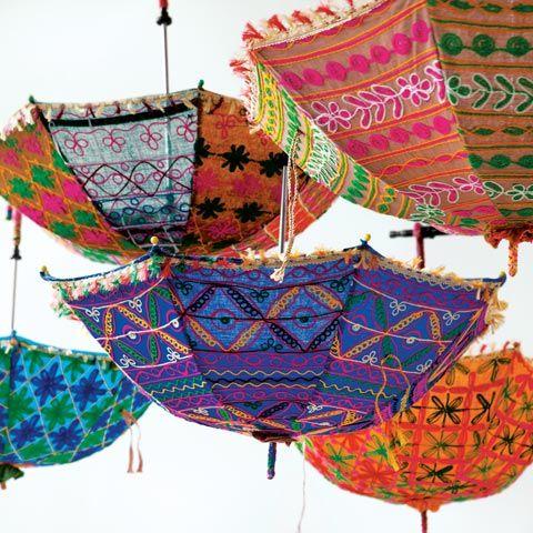 Bohemian Parasols - Ill take one of each!