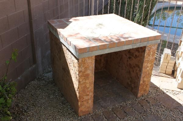 how to build a wood fired forge